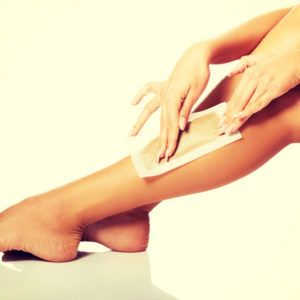 leg half wax in santa barbara spa leg waxing